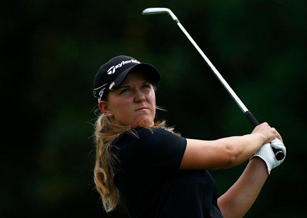 Ernst edges Kim to win first LPGA title