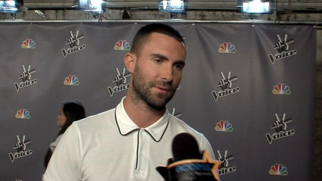 Adam Levine Talks 'American Horror Story', His New 'Do & 'Voice' Live Rounds  -- Access Hollywood