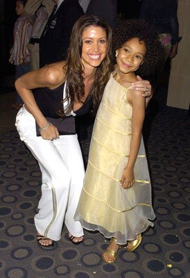 Shannon Elizabeth and Gabby Soleil at the L.A. premiere of Fox Searchlight's Johnson Family Vacation