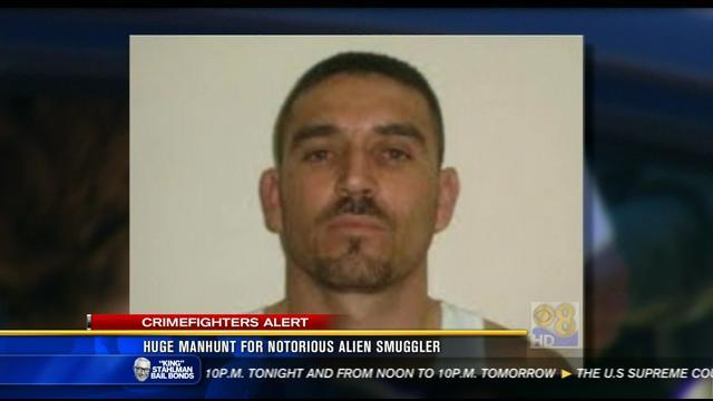 Huge manhunt for notorious illegal immigrant smuggler