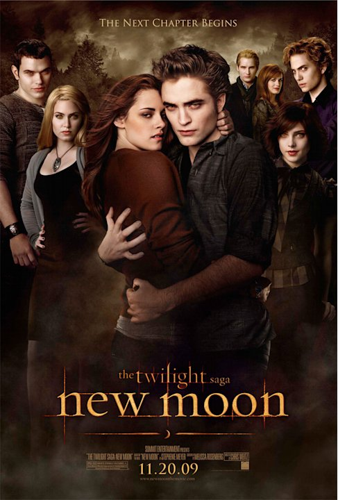 Twilight Saga New Moon Banners 2009 Cullens
