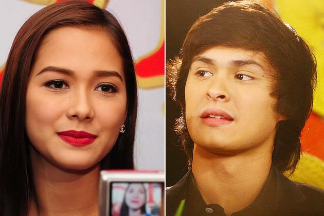 Maja Salvador and Matteo Guidicelli