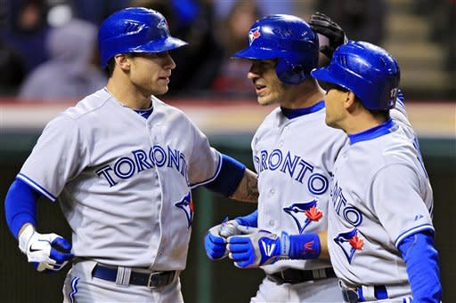 Blue Jays outlast Indians in 16th of record opener