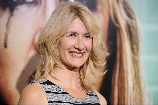 "Laura Dern arrives at the premiere of HBO's ""Enlightened&quot at Paramount Theater on October 6, 2011 in Hollywood, California."