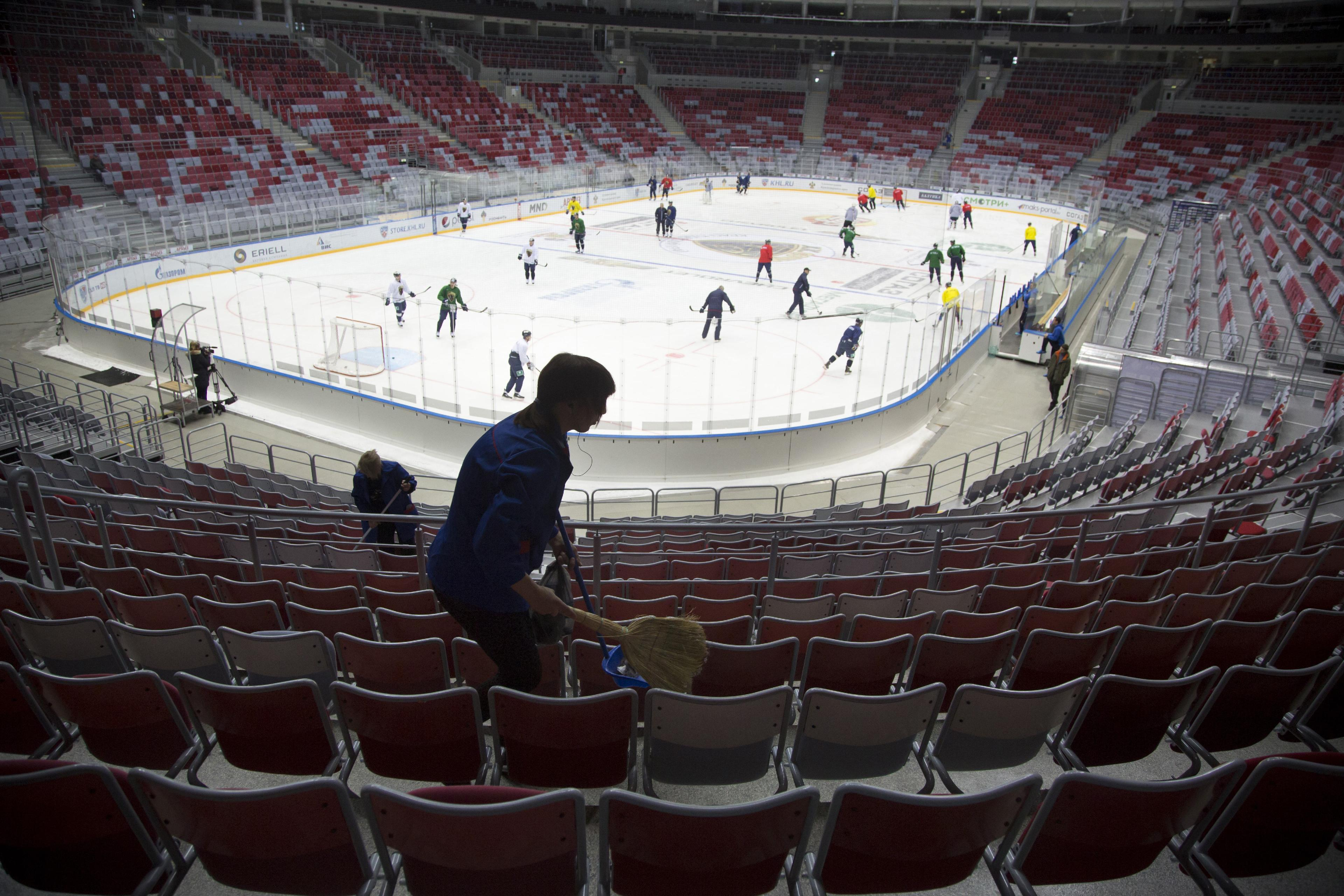 Sochi hockey team thriving a year after Winter Olympics