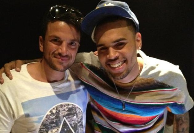 Peter Andre, Chris Brown