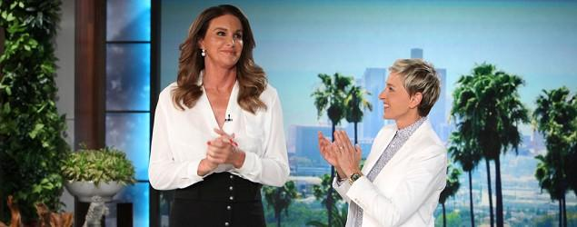 Caitlyn Jenner gives first TV interview on 'Ellen'