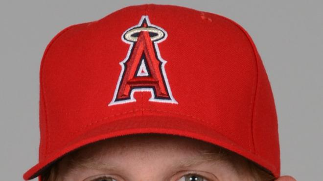 Jered Weaver Baseball Headshot Photo