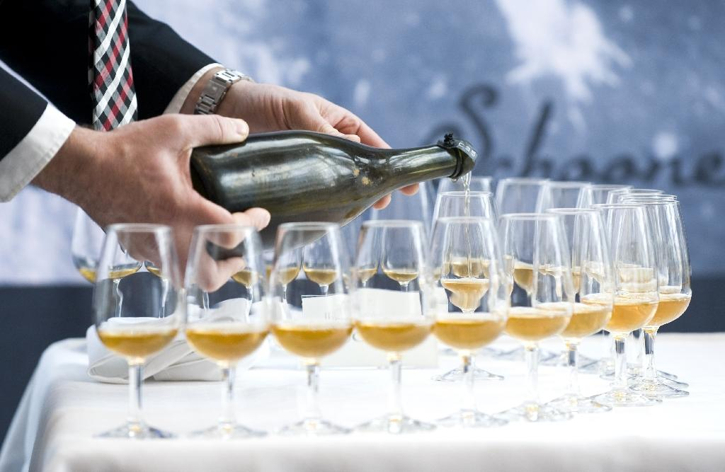 Sugary, shipwrecked champagne reveals history of winemaking