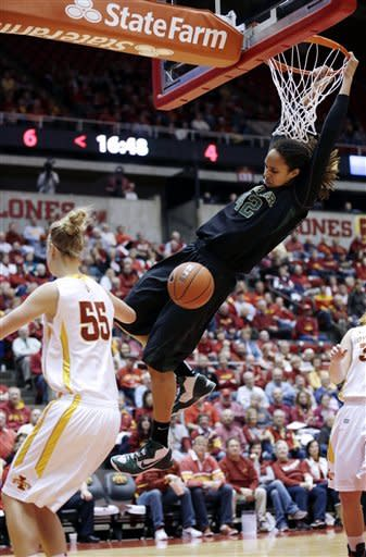 No. 1 Baylor women beat No. 24 Iowa State 66-51
