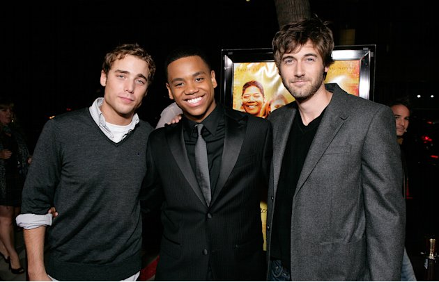 The Secret Life of Bees LA Premiere 2008 Dustin Milligan Nate Parker Ryan Eggold