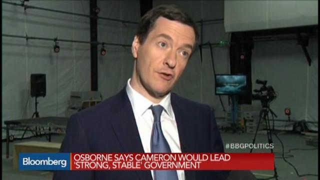 Voters Risk 'Economic Chaos' Under Labour: Osborne