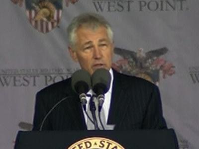 Hagel Urges Cadets to End Scourge of Sex Assault