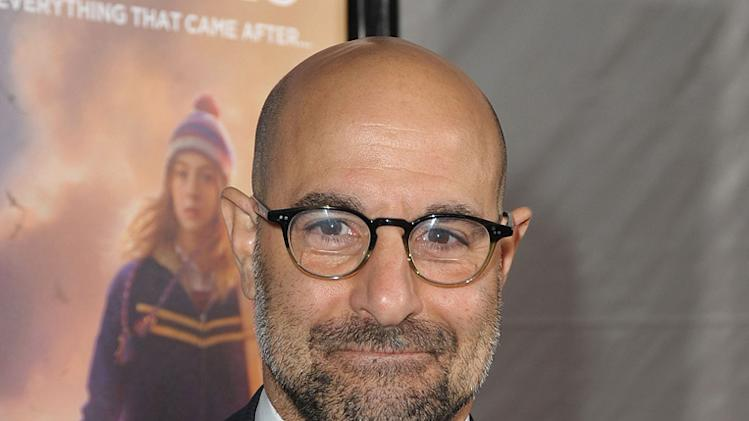 The Lovely Bones LA premiere 2009 Stanley Tucci