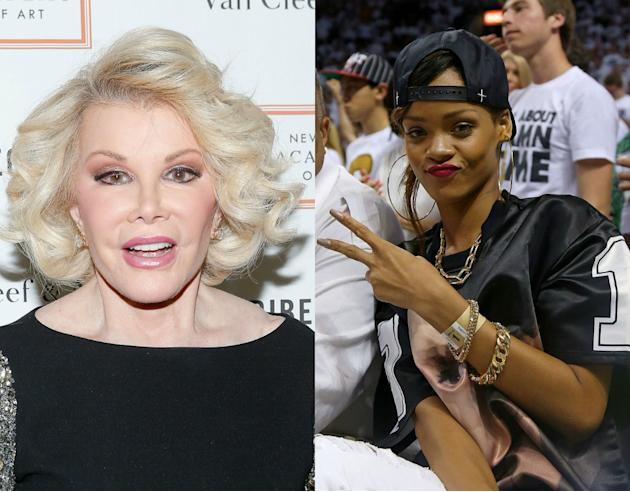 Joan Rivers vs. Rihanna