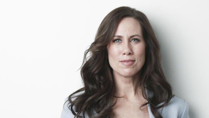 "Actress Miriam Shor poses for a portrait in promotion of her/his role in the upcoming TV Land comedy series ""Younger"" on Monday, March 30, 2015 in New York. (Photo by Amy Sussman/Invision/AP)"