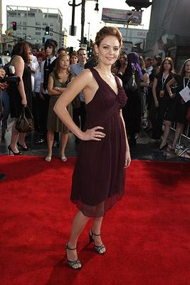 Hanna Hall at the Hollywood premiere of MGM/Dimension Films' Halloween