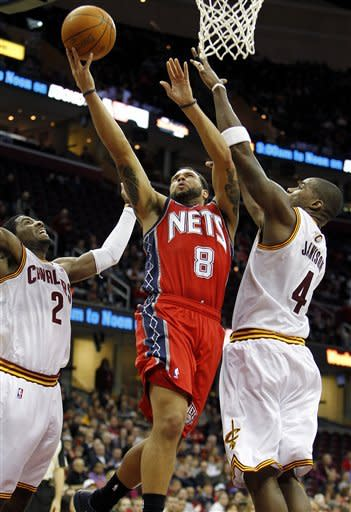 Jamison, 3-pointers lead Cavaliers past Nets 98-82
