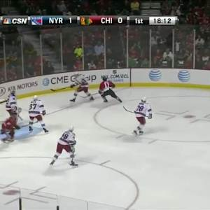 NY Rangers Rangers at Chicago Blackhawks - 09/26/2014