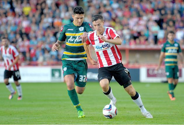 Soccer - Capital One Cup - First Round - Exeter City v Queens Park Rangers - St James' Park