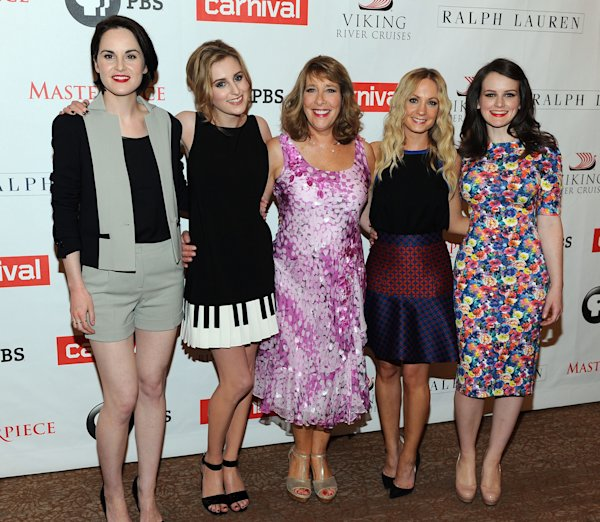 Downton Abbey Actresses In Modern Dress
