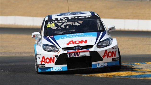 Tom Chilton was a surprising second in his Ford Focus.