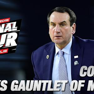 Duke's Coach K Discusses the Gauntlet of March | Duke in the Final Four