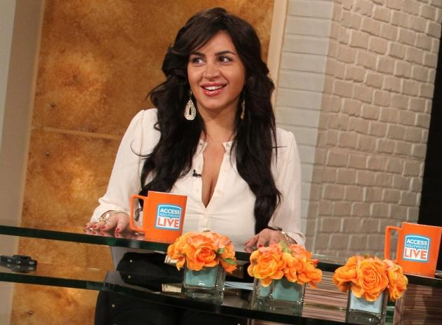 Mercedes 'MJ' Javid stops by Access Hollywood Live on February 6, 2013 --