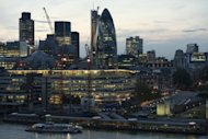 &lt;p&gt;A view of buildings in the City of London on May 30. &quot;GDP was estimated to have increased by 1.0 percent in Q3 2012 compared with Q2 2012,&quot; the Office for National Statistics said in a statement.&lt;/p&gt;