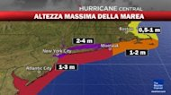 Uragano Sandy su New York e Washington Live: Webcam e Previsioni