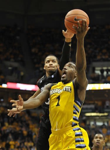 No. 18 Marquette beats Cincinnati 95-78