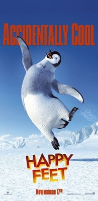 Mumble (voiced by Elijah Wood ) in Warner Bros. Pictures' Happy Feet