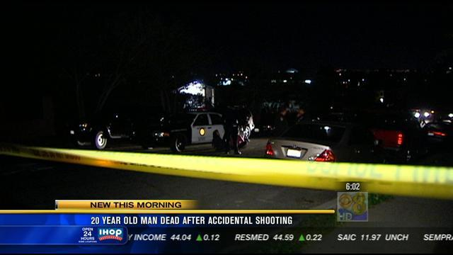 20 year-old-man dead after accidental shooting