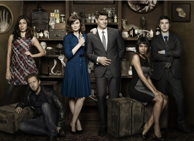"The cast of ""Bones."""