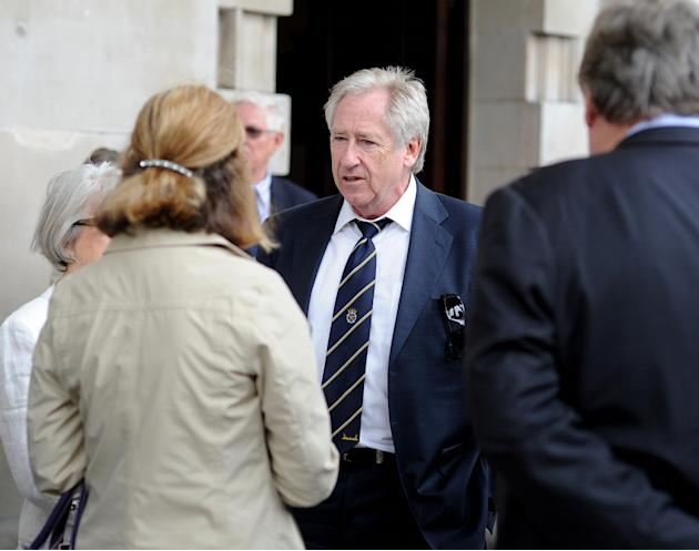 Cricketer Tony Greig Memorial Service