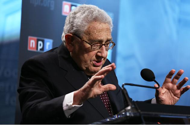 Henry Kissinger Gives Speech On China's New Leadership