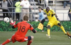 Uduro scores in 72nd as Crew draw 1-1 with Union