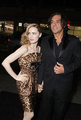 Melissa George and Claudio Dabed at the Los Angeles premiere of Columbia Pictures' 30 Days of Night