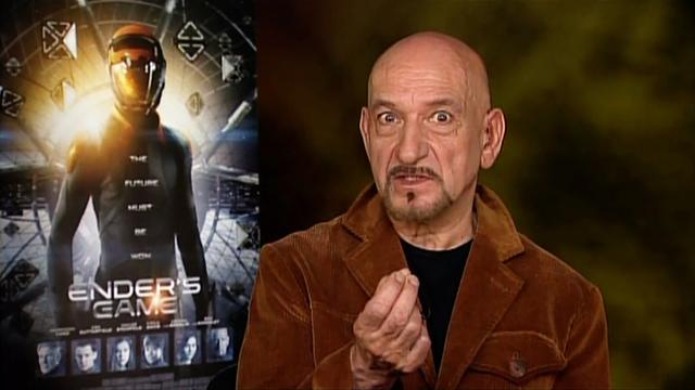 "Ben Kingsley says ""Ender's Game"" is ""spectacular"""