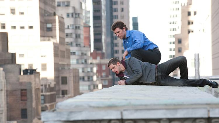 Man on a Ledge 2012 Summit Entertainment Jamie Bell Sam Worthington
