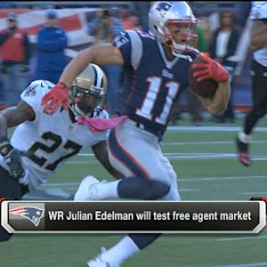 Julian Edelman to test free agent market