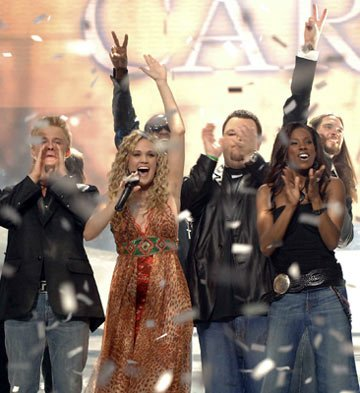 Carrie Underwood is named the winner