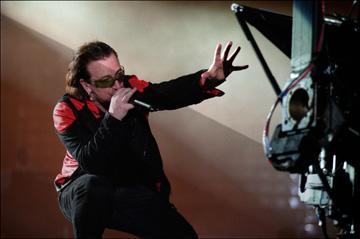 Bono  in National Geographic World Film's U2 3D