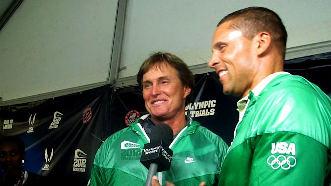 Bruce Jenner and Dan O'Brien