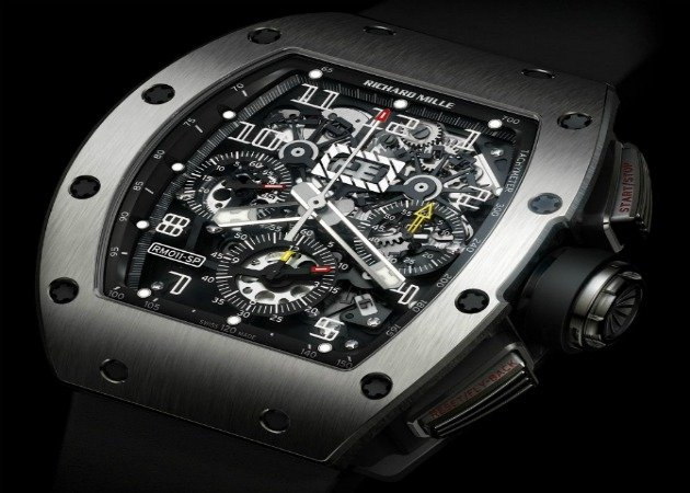 A Richard Mille watch (Nadal's actual stolen watch not pictured)