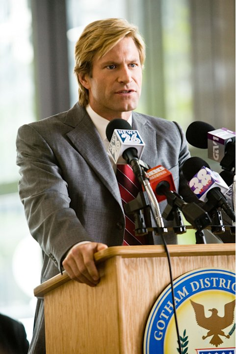 Aaron Eckhart Batman The Dark Knight Production Warner Brothers 2008