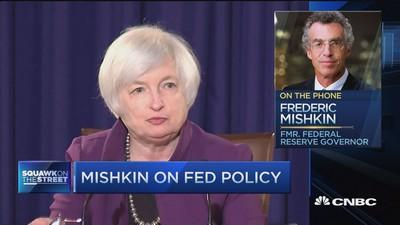 Here's the Fed's real problem: Ex-Fed Gov Mishkin