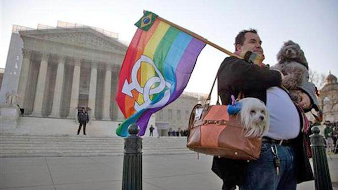 Supreme Court hears case on federal benefits for same-sex couples