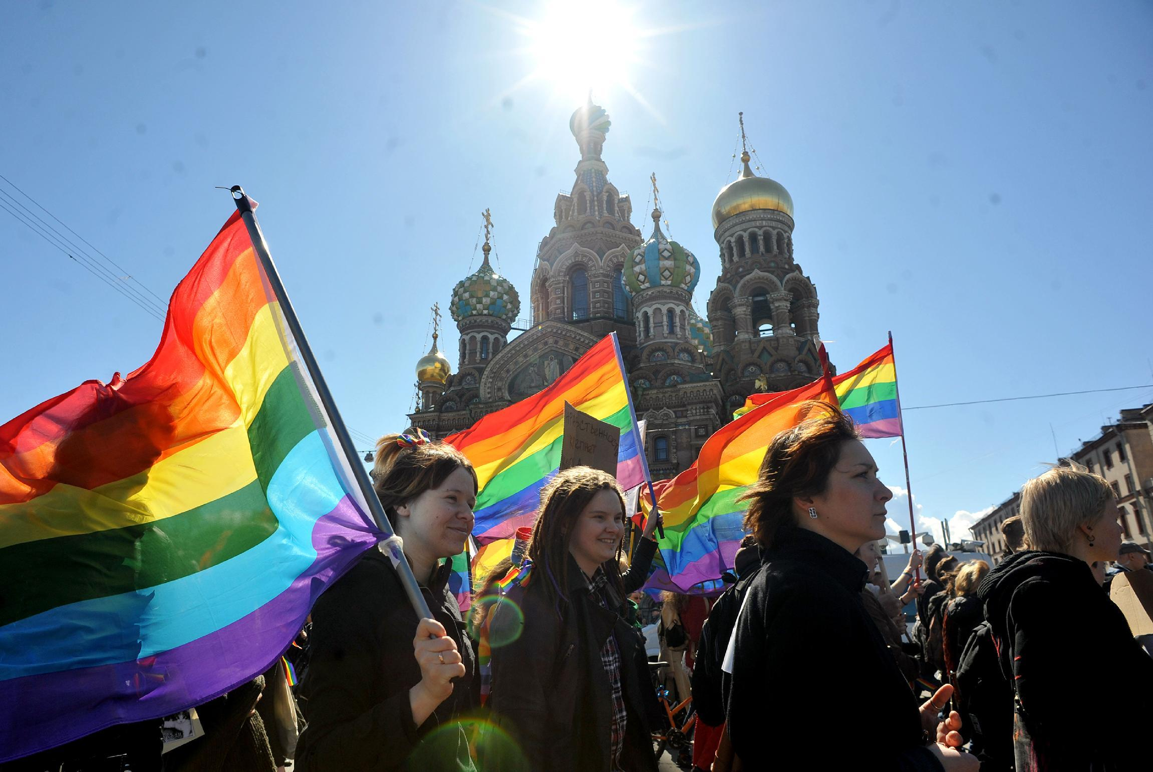 Founder of Russian gay teen site convicted of 'propaganda'