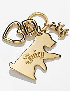Juicy Couture Scottie Crest Key Fob